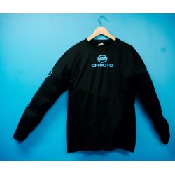 T-Shirt, långärmad med CF Moto-tryck