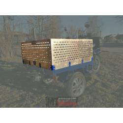 Lastkorg i aluminium 40 cm, MGB Delivery