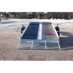 Boro Quad 3,53m x 1,72m bromsad 1 ax