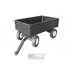 Gårdsvagnen med 4 hjul, omonterad
