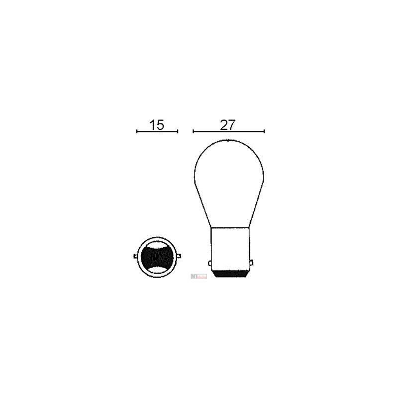 Lampa 12v 15w