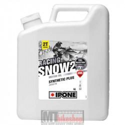 Motorolja Ipone Racing Snow2, 2T, Snöskoter, 4L, Jordgubb