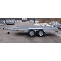 Boro Quad 3,53m x 1,72m bromsad 2 axlad